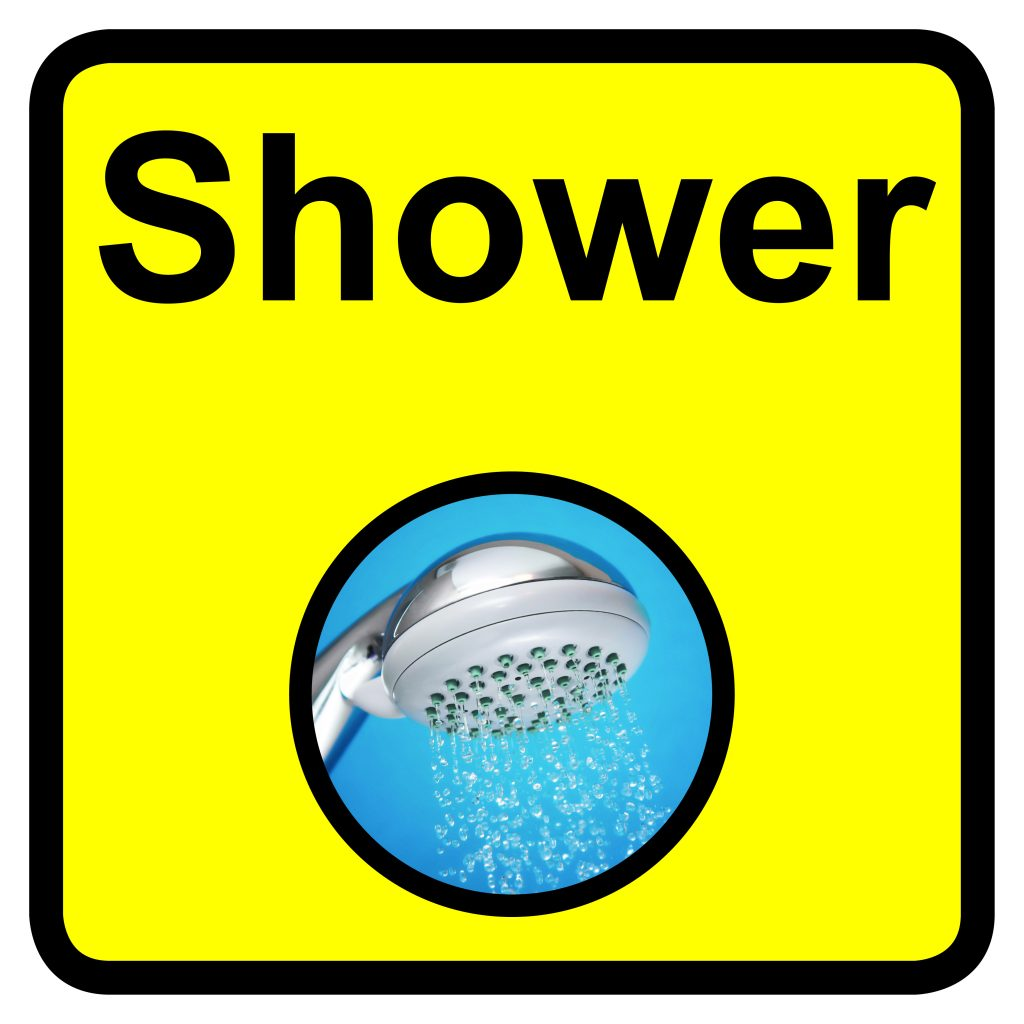 Signs Amp Labels 300x300mm Shower Dementia Sign