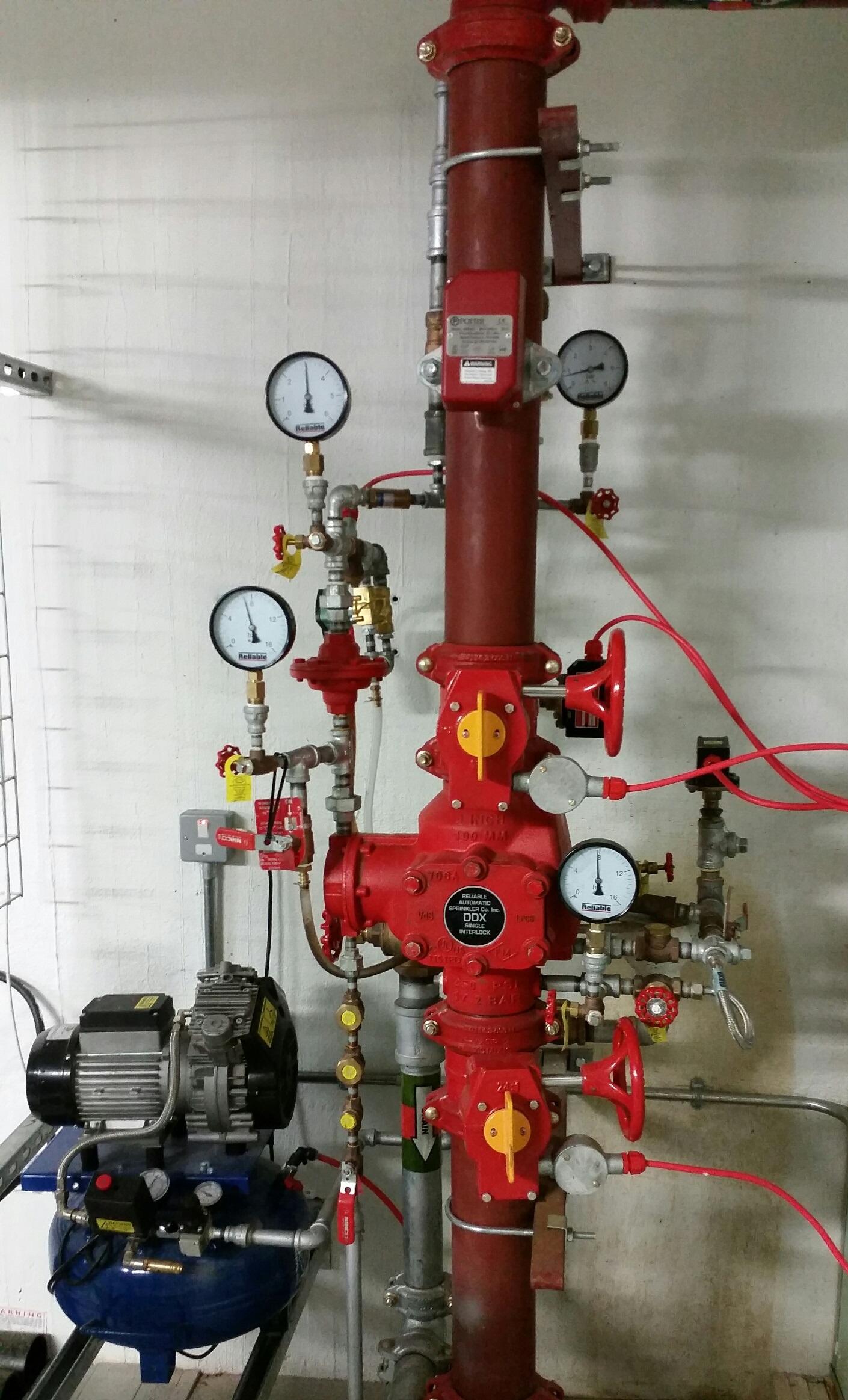 Pre Action Sprinkler Installations