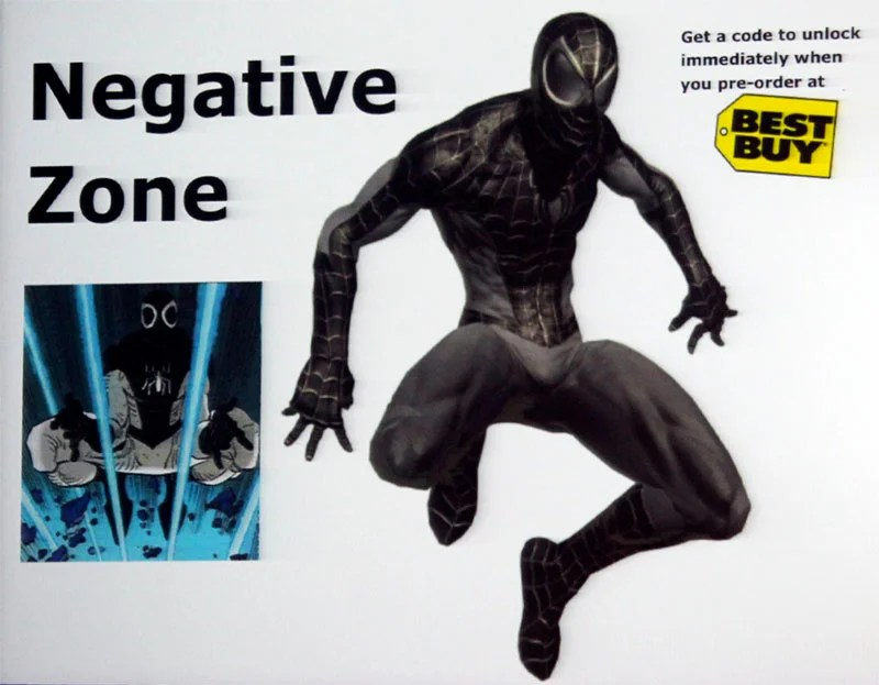 Spider-Man Shattered Dimensions - Negative Zone