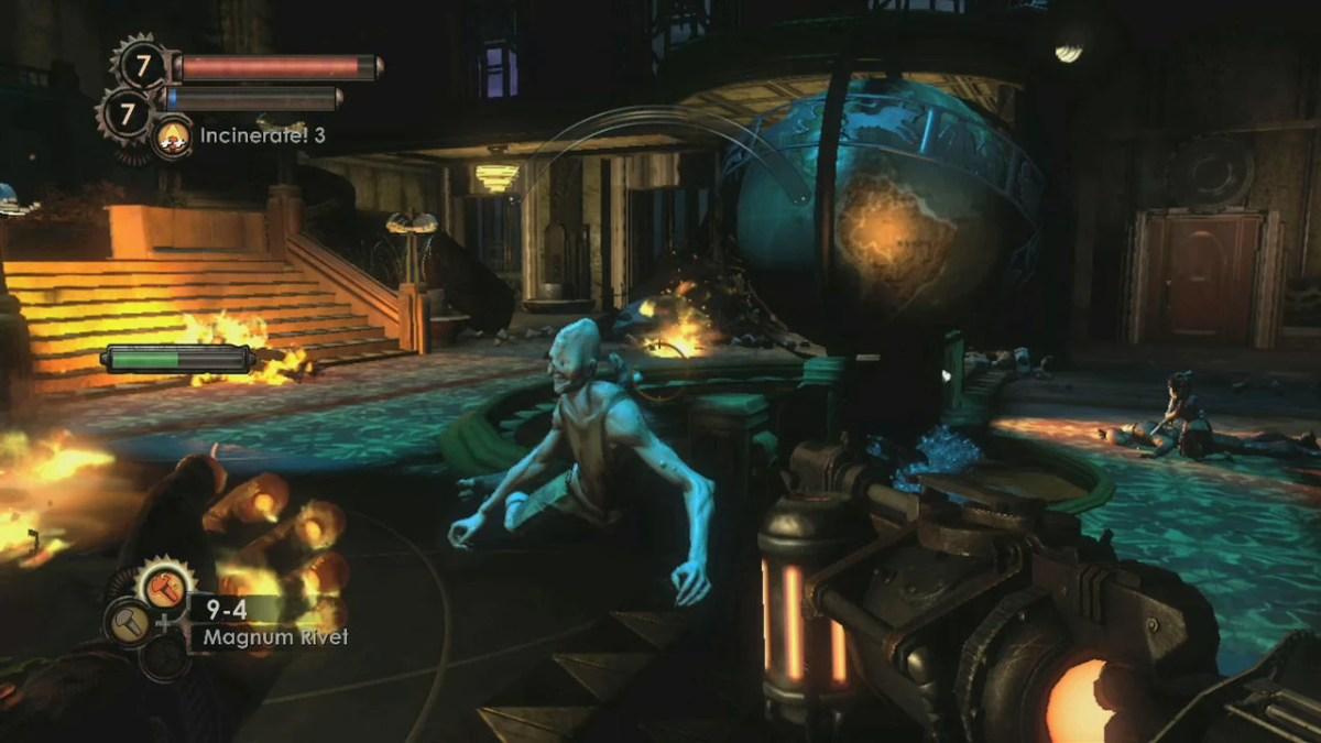 Imagem do game Bioshock 2
