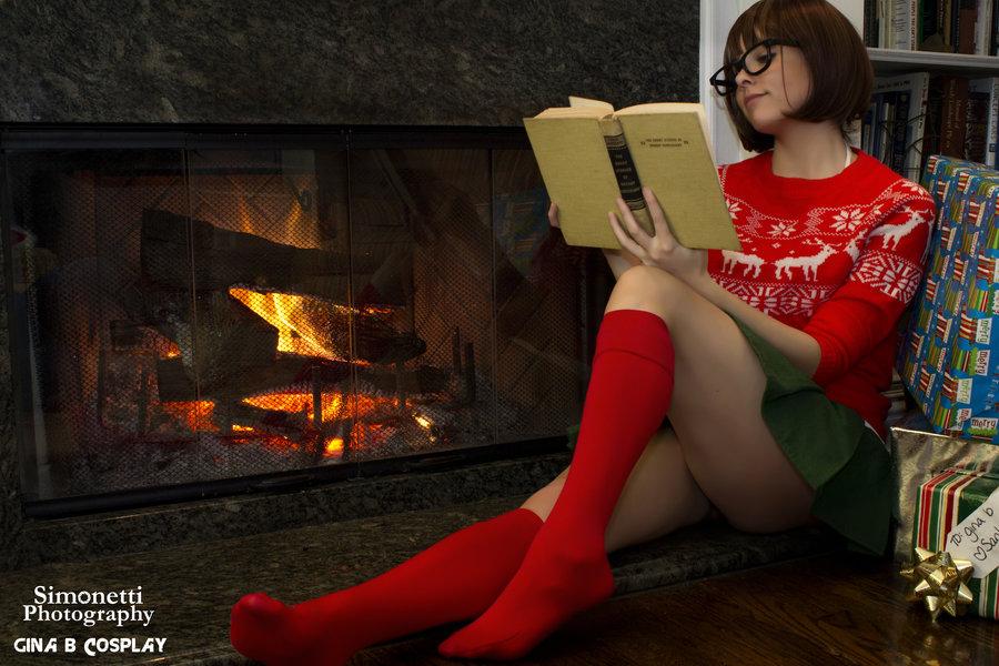 Christmas Velma - By Ginabcosplay