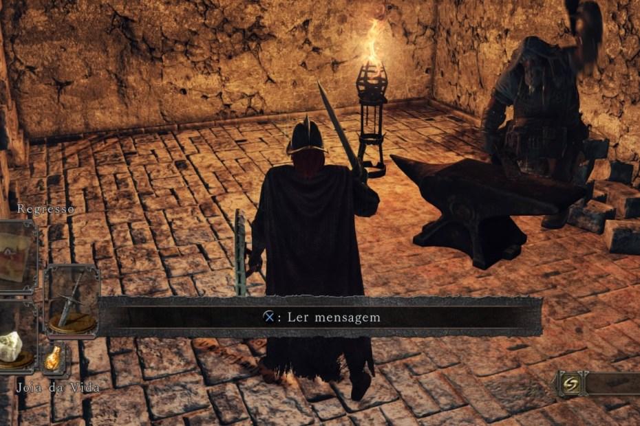 Dark Souls II - Bastilha Perdida - Oficina do McDuff Capa