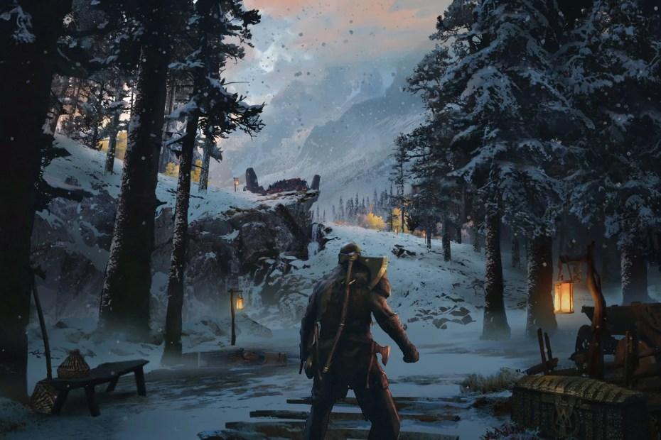 God of War - PS4 Concept Art - Full HD 01