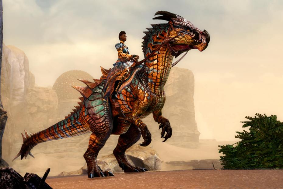 Guild Wars 2 - Nova Montaria - Raptor