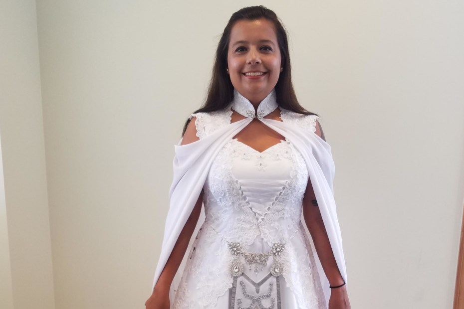 Vestido de Noiva - The Legend of Zelda - Twilight Princess - Capa