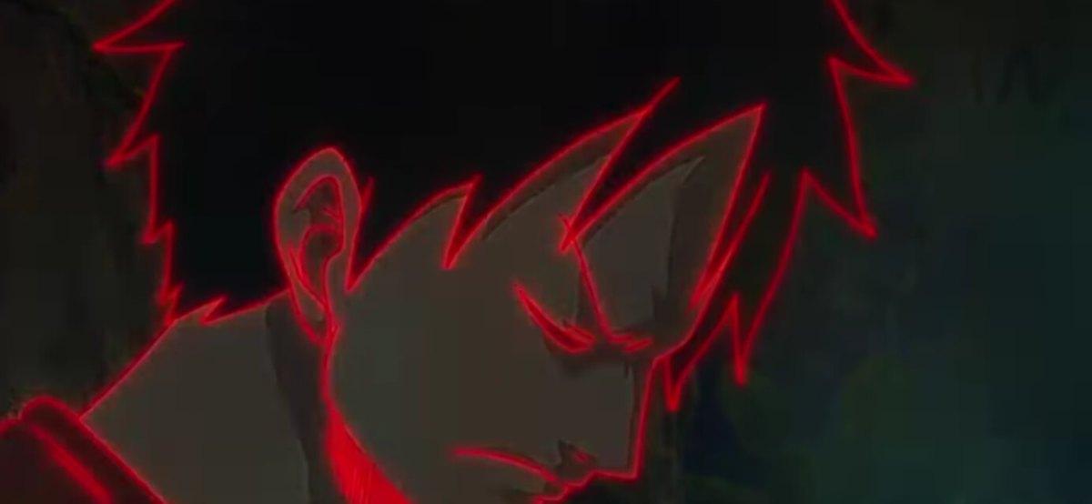 Luffy treinando o Haki da Observação