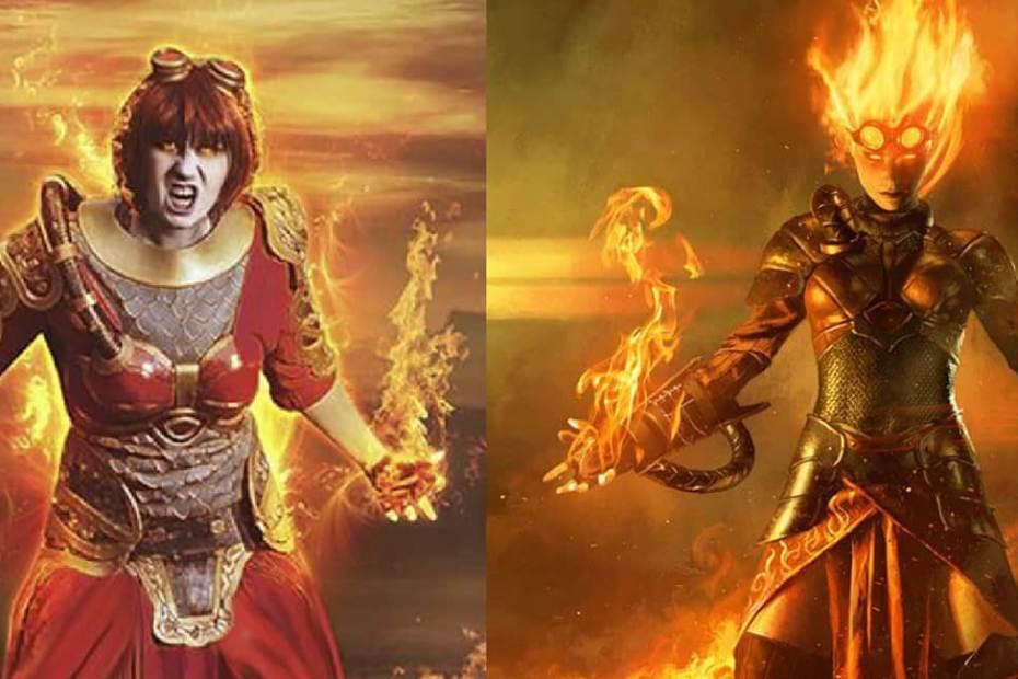 Chandra Nalaar - Magic The Gathering Cosplay Foto