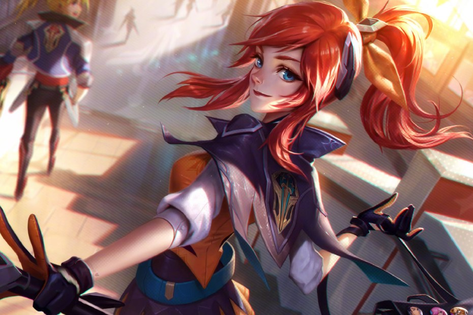League of Legends - Lux Academia de Batalha - Versão Normal Topo