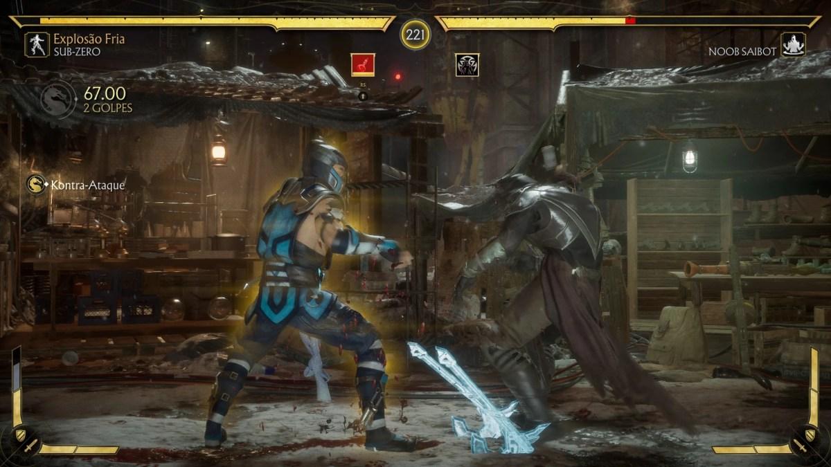 Mortal Kombat 11 - Review - Luta 02