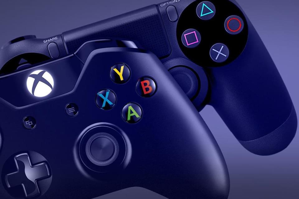 PS4 e Xbox Controles