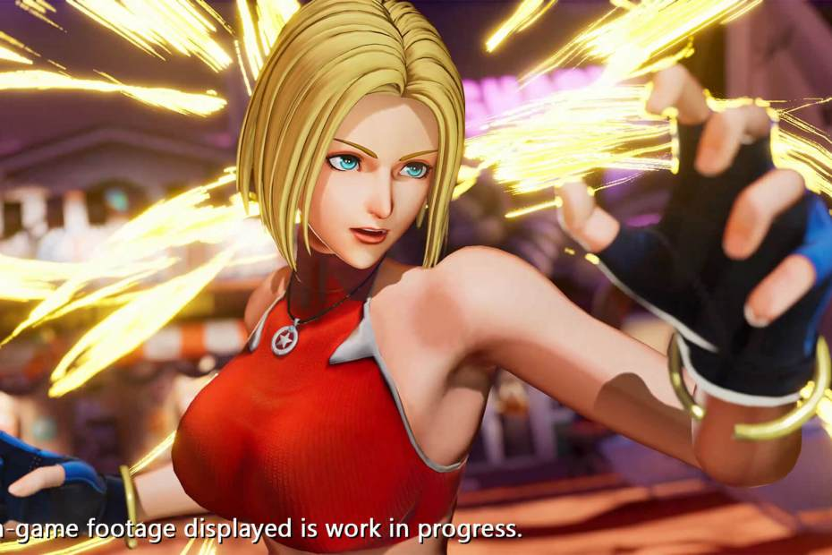 Blue Mary em The King of Fighters XV - Stories 06