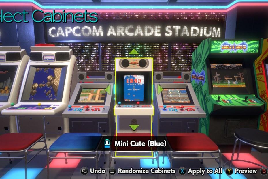 Capcom Arcade Stadium - PC Screenshot 01
