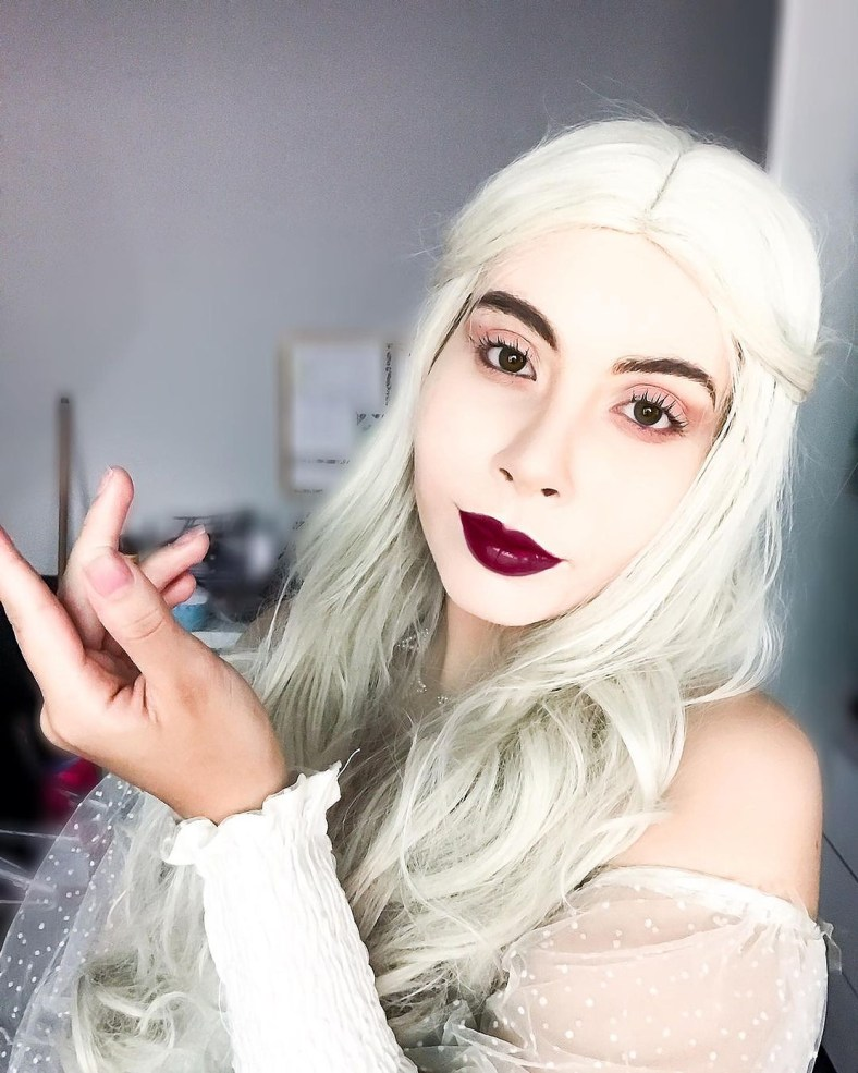 Cosplay da Rainha Branca - 04