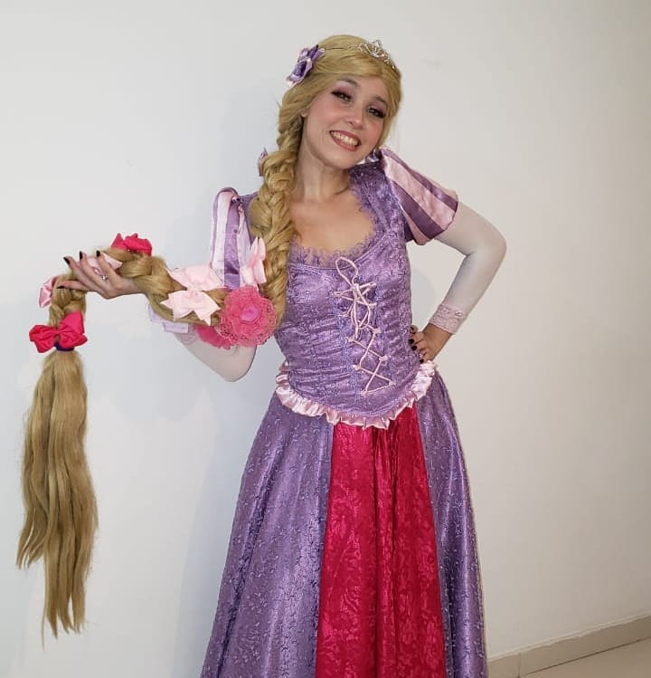Cosplay da Rapunzel - Princesa Disney 03