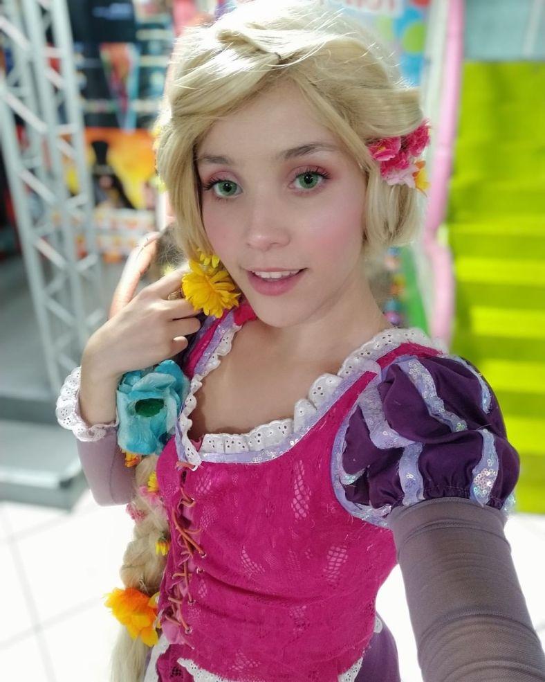 Cosplay da Rapunzel - Princesa Disney 04