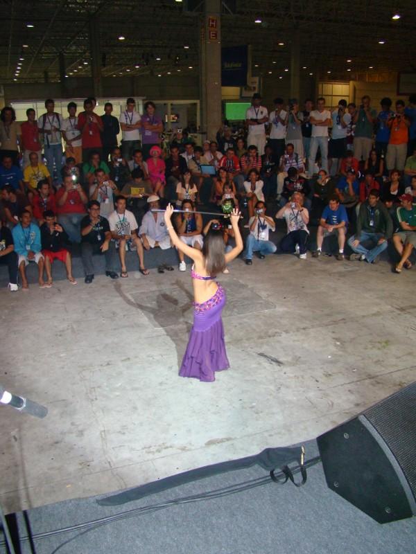 Dança do Ventre Campus Party 2019 - Luana Hazine 06