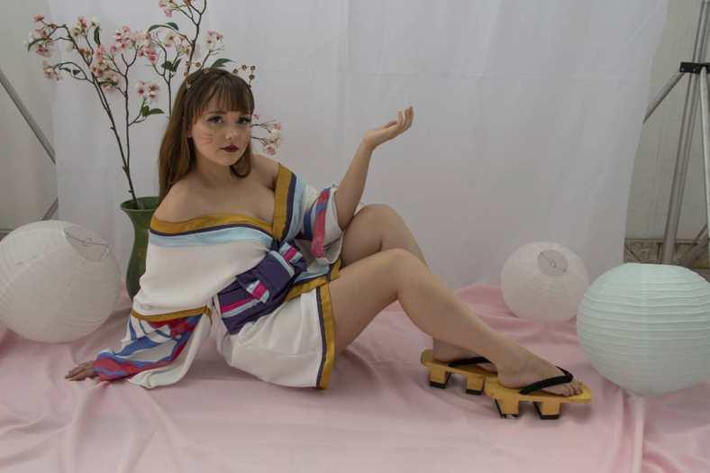 Kimono da Ahri Spirit Blossom - League of Legends - Cosmaker e Cosplay 03