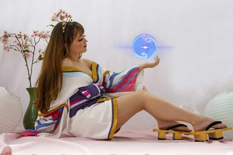 Kimono da Ahri Spirit Blossom - League of Legends - Cosmaker e Cosplay 04