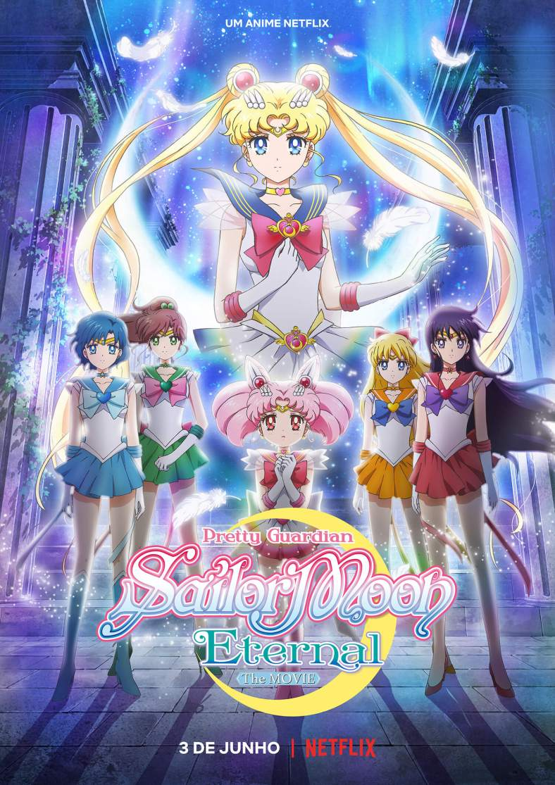 Poster de Pretty Guardian Sailor Moon Eternal - O Filme