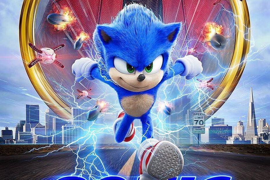 Topo Poster Sonic 01