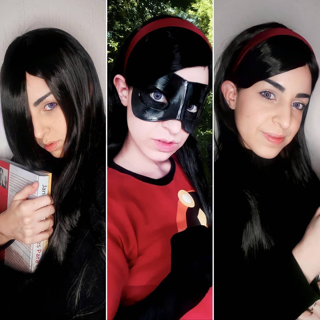 Veja um belo cosplay da Violeta - Os Incríveis - 01