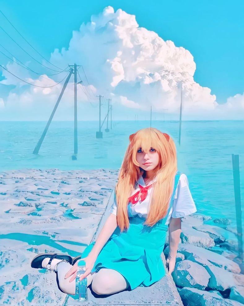 Cosplay da Asuka - Evangelion