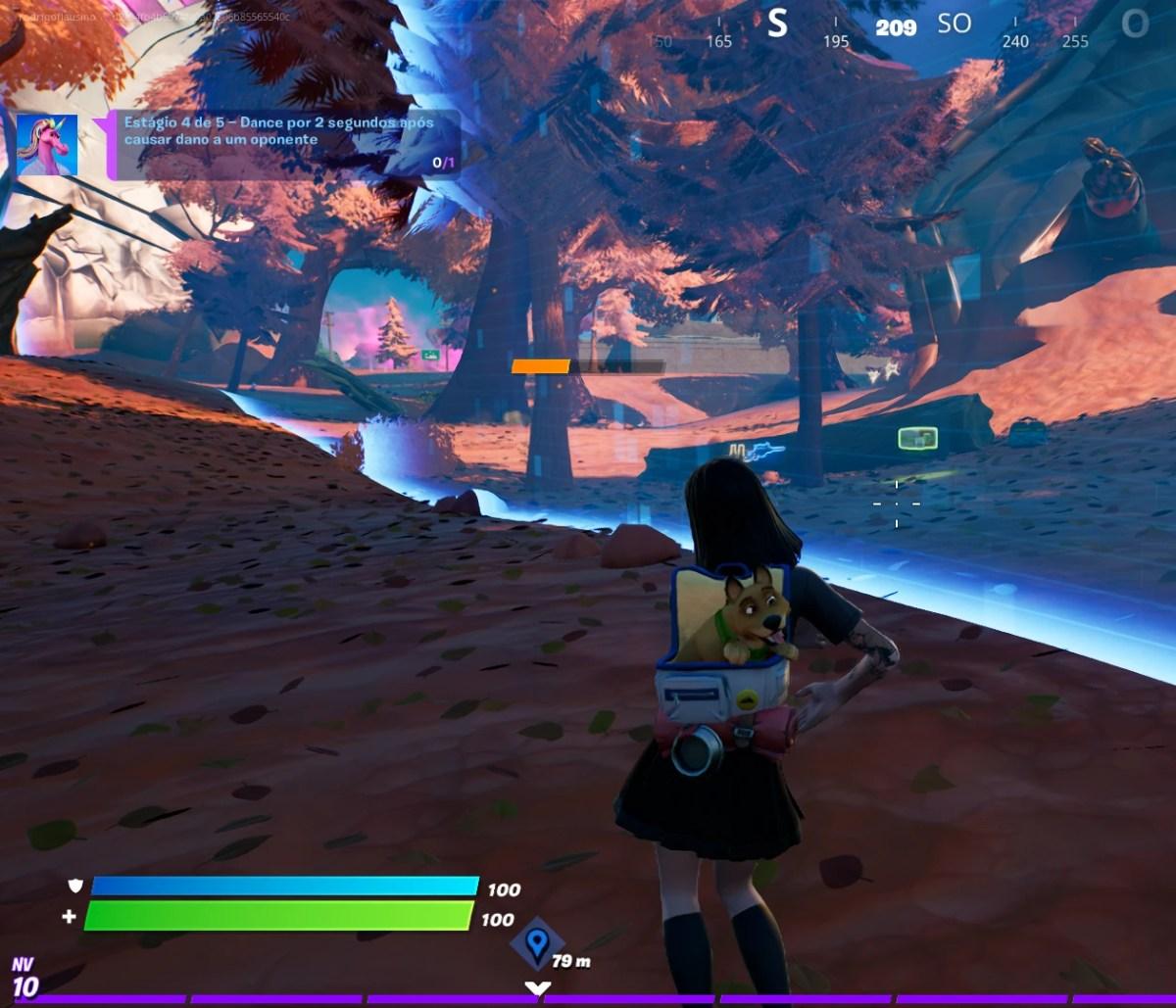 Fortnite - Dançando na borda da tempestade 03