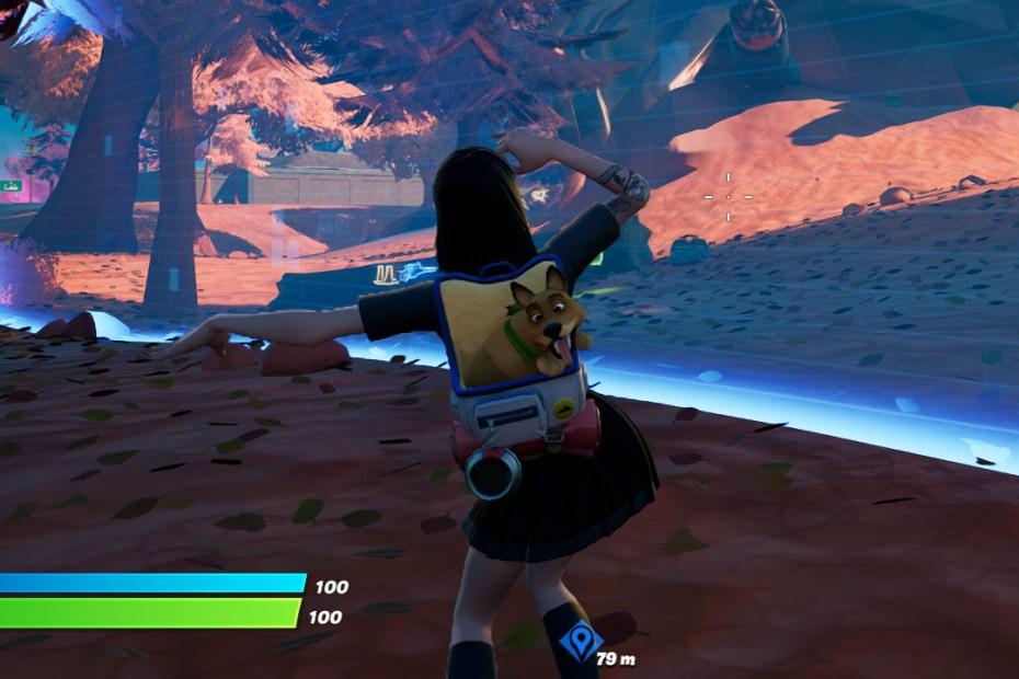 Fortnite - Dançando na borda da tempestade Capa