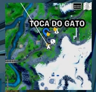 Fortnite Frasco de Cor Dourado Midas - Temporada 8 - Mapa