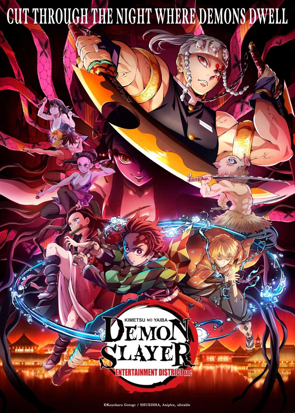 Kimetsu no Yaiba - Poster da segunda temporada