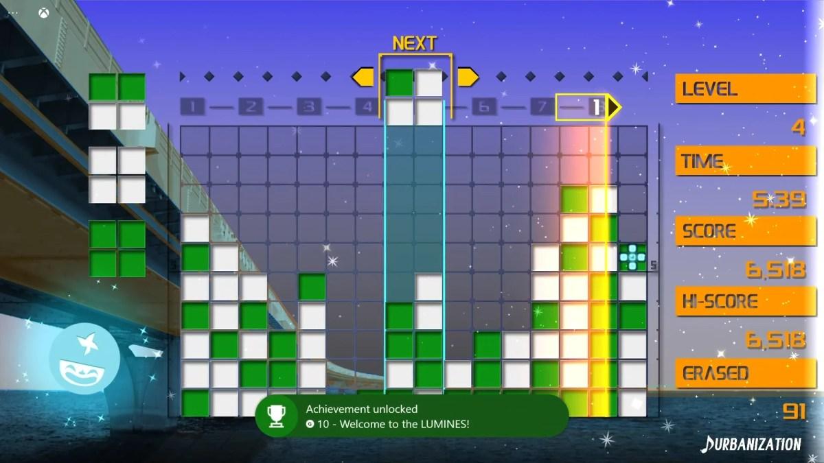 Lumines Remasterd Xbox Cloud Screenshot 02