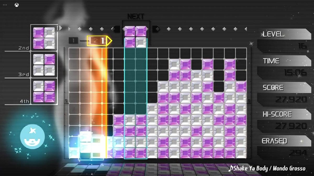 Lumines Remasterd Xbox Cloud Screenshot 04