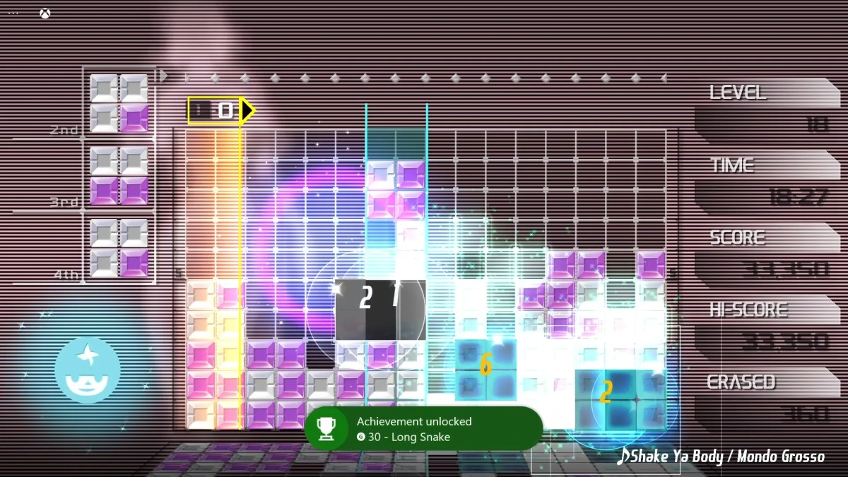 Lumines Remasterd Xbox Cloud Screenshot 05