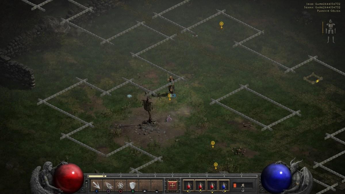 Diablo II - PC Screenshot Progressão - Planície Gélida 01