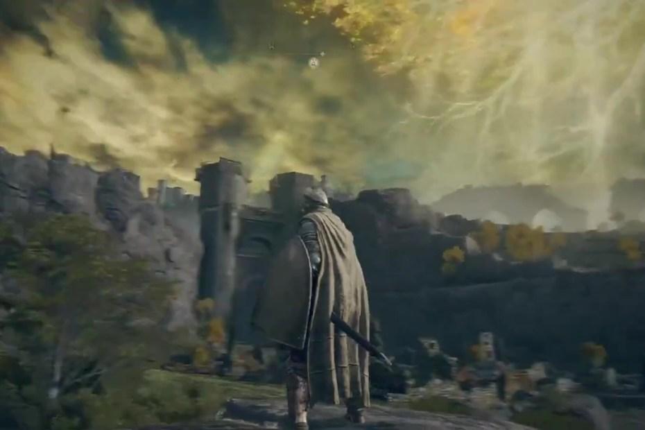 Elden Ring trecho de gameplay capa
