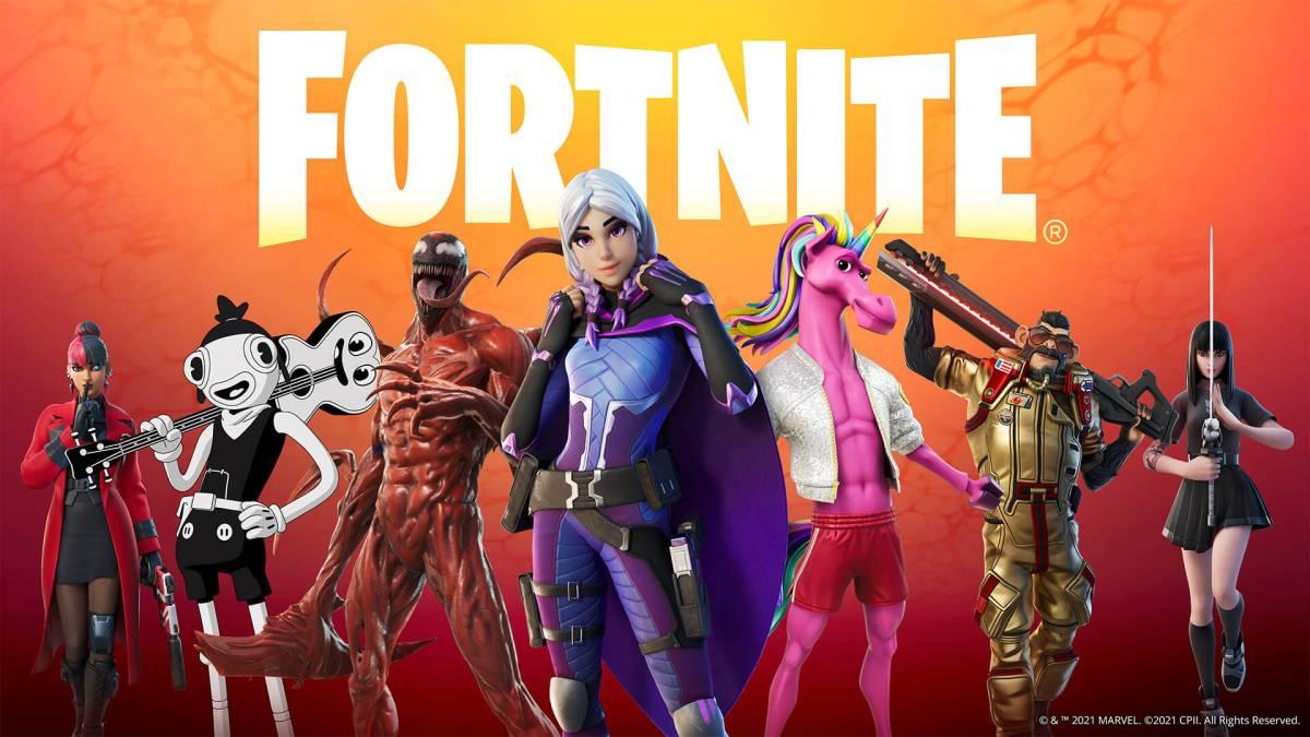 Fortnite Wallpaper Full HD Temporada 8 - Personagens