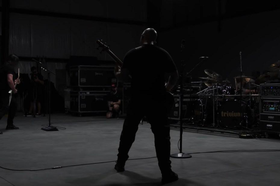 Imagem do novo clipe do Trivium