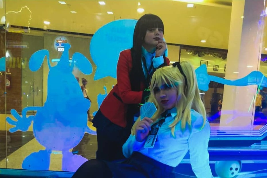 Mary Saotome e Yumeko Jabami - Cosplays de Kakegurui Capa
