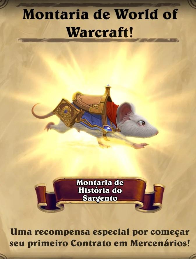 Montaria de World of Warcraft - História do Sargento 01