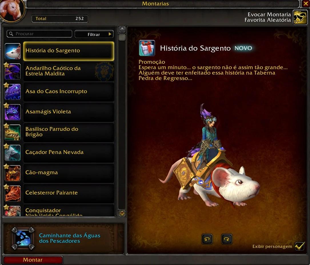 Montaria de World of Warcraft - História do Sargento 03