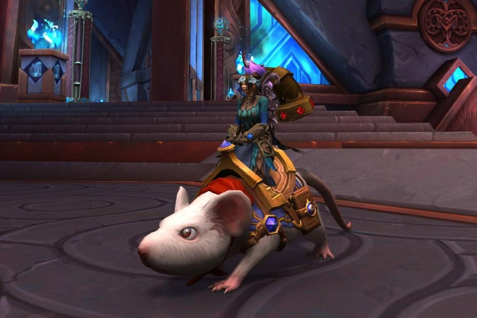 Montaria de World of Warcraft - História do Sargento Capa