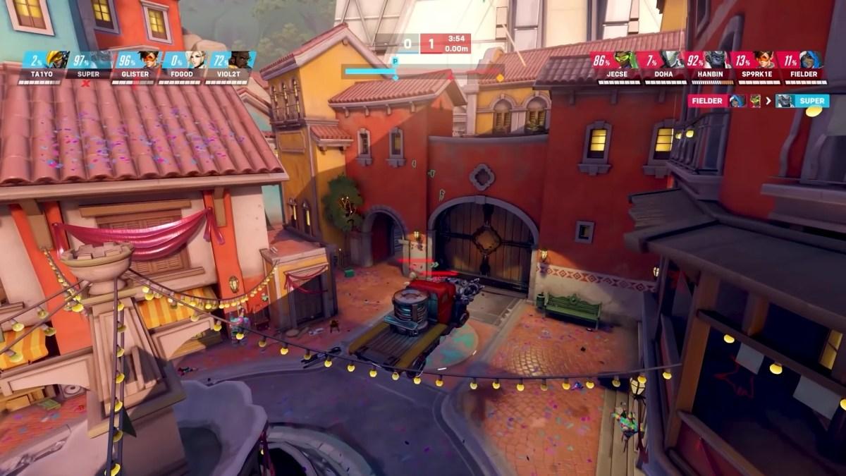 Overwatch 2 - Mapa Dorado