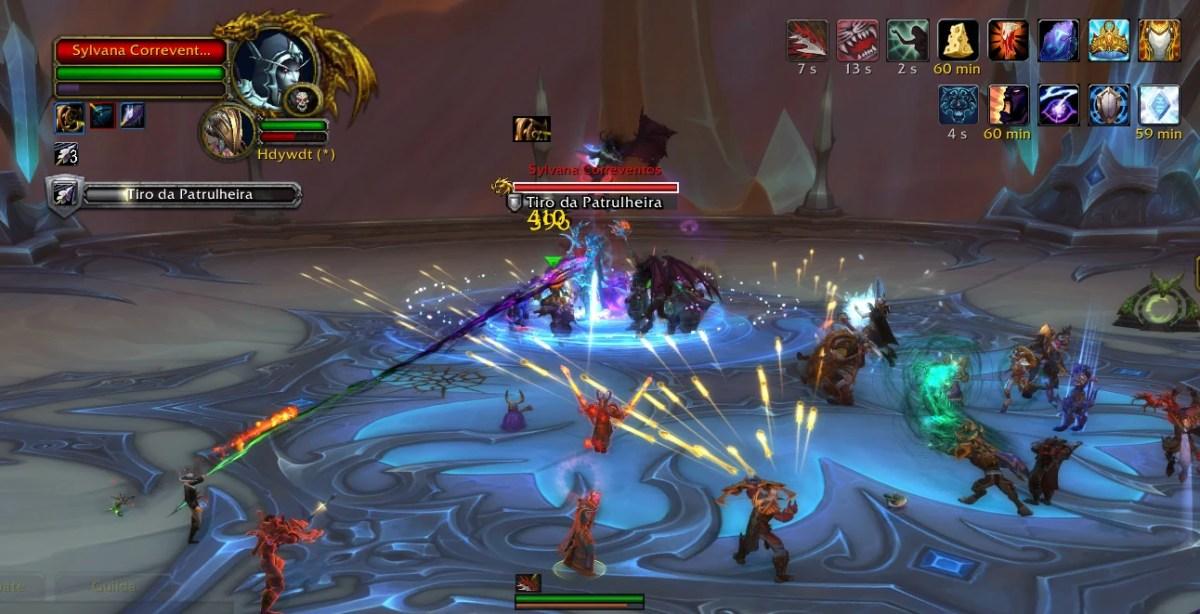 World of Warcraft - Enfrentando a Sylvana Correventos 01