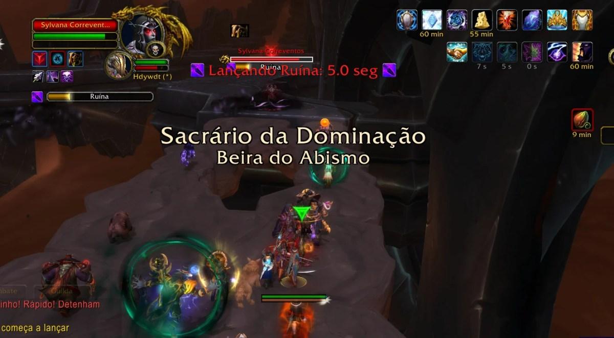 World of Warcraft - Enfrentando a Sylvana Correventos 02