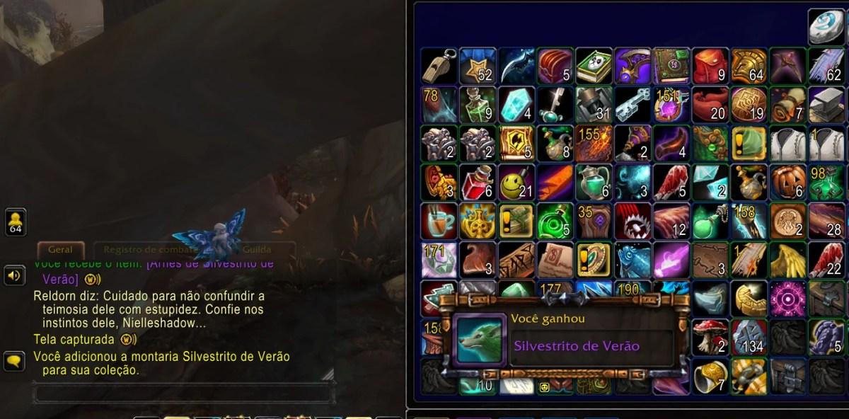 World of Warcraft Shadowlands - Missão do Silvestrito Fugido 06