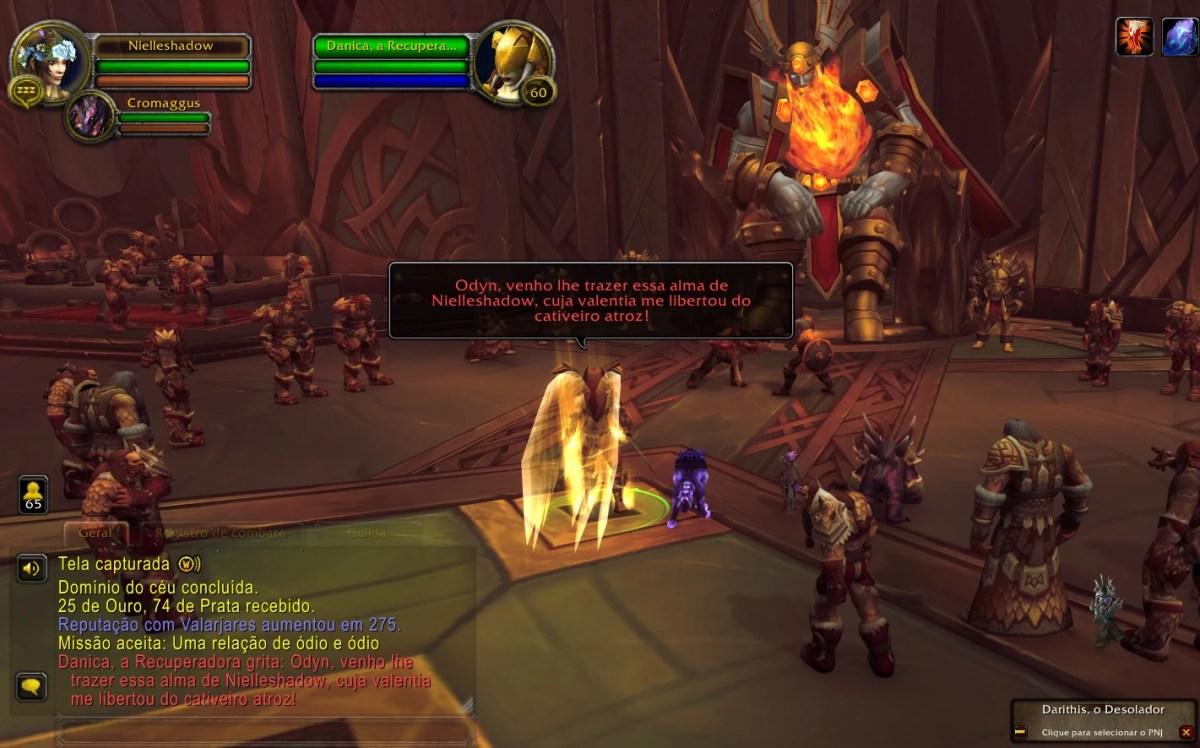 World of Warcraft Shadowlands - Missões do Odyn 01