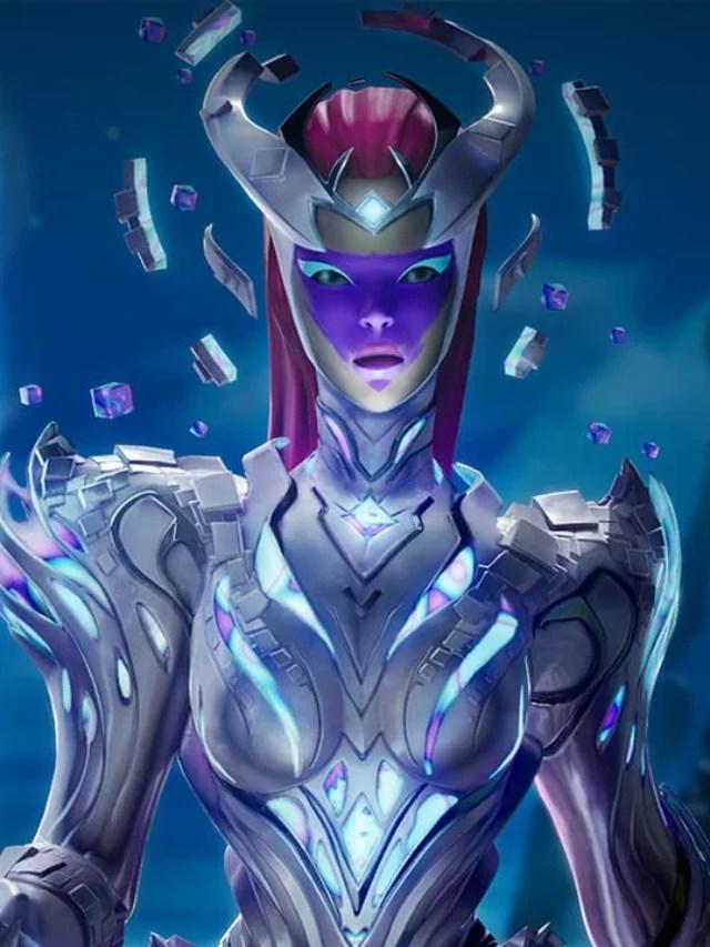 A Rainha Cubo chegou em Fortnite!