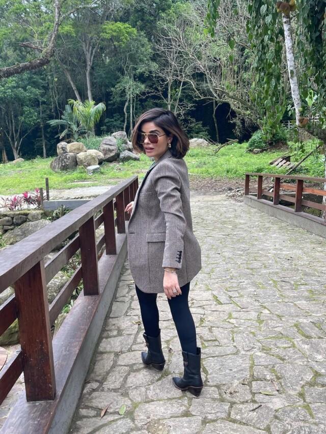 Look casual de Vanessa Giácomo