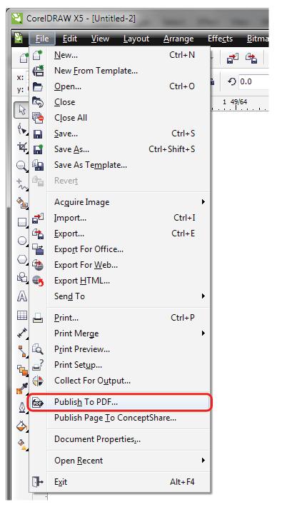 Cara Menyimpan Coreldraw X7 Menjadi Jpg : menyimpan, coreldraw, menjadi, Corel, Tutorial, Setup, Files, Print