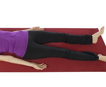 Shavasana (rest position)